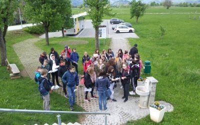 Kulturni dan Po poti kulturne dediščine, 8. razred